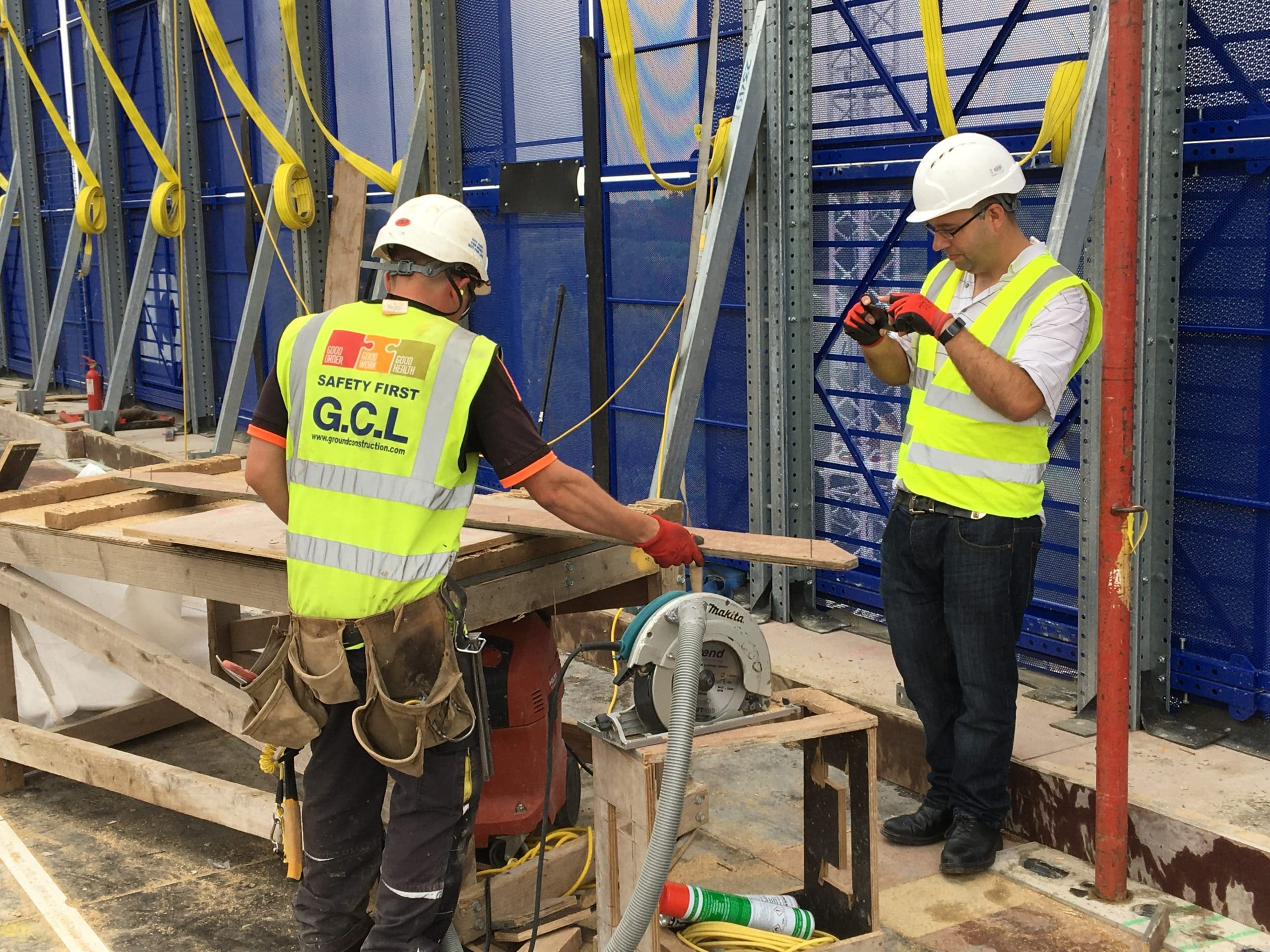on site apprenticeships