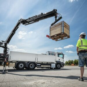 lorry loader HIAB Training